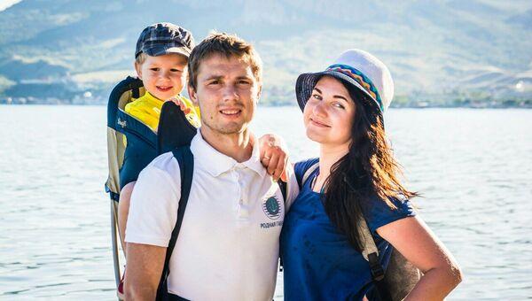 Победители Всероссийского конкурса Семья года 2017 Даниил и Надежда Данильченко