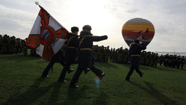 Боевое знамя 171 отдельного десантно-штурмового батальона 7-й гвардейской десантно-штурмовой дивизии (горной)