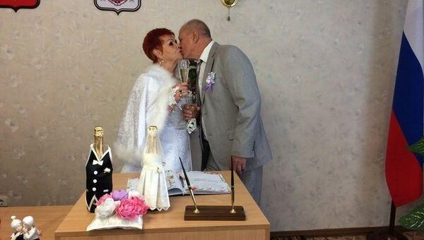 Бракосочетание в симферопольском ЗАГС