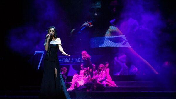 Победительница международного конкурса красоты Мисс офис-2017 Анастасия Божкова