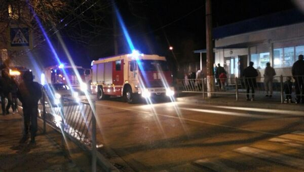 В частном доме на перекрестке улиц Русская и Гавена произошло возгорание