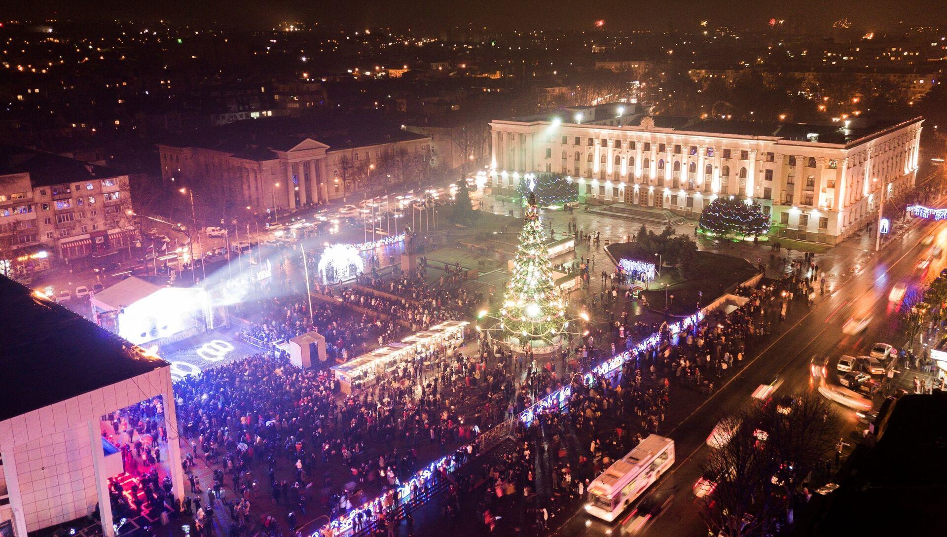 Празднование Нового года в Симферополе - РИА Новости, 1920, 18.11.2020