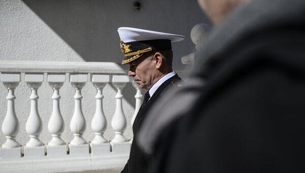 Экс-главнокомандующий Военно-морскими силами Украины Сергей Гайдук