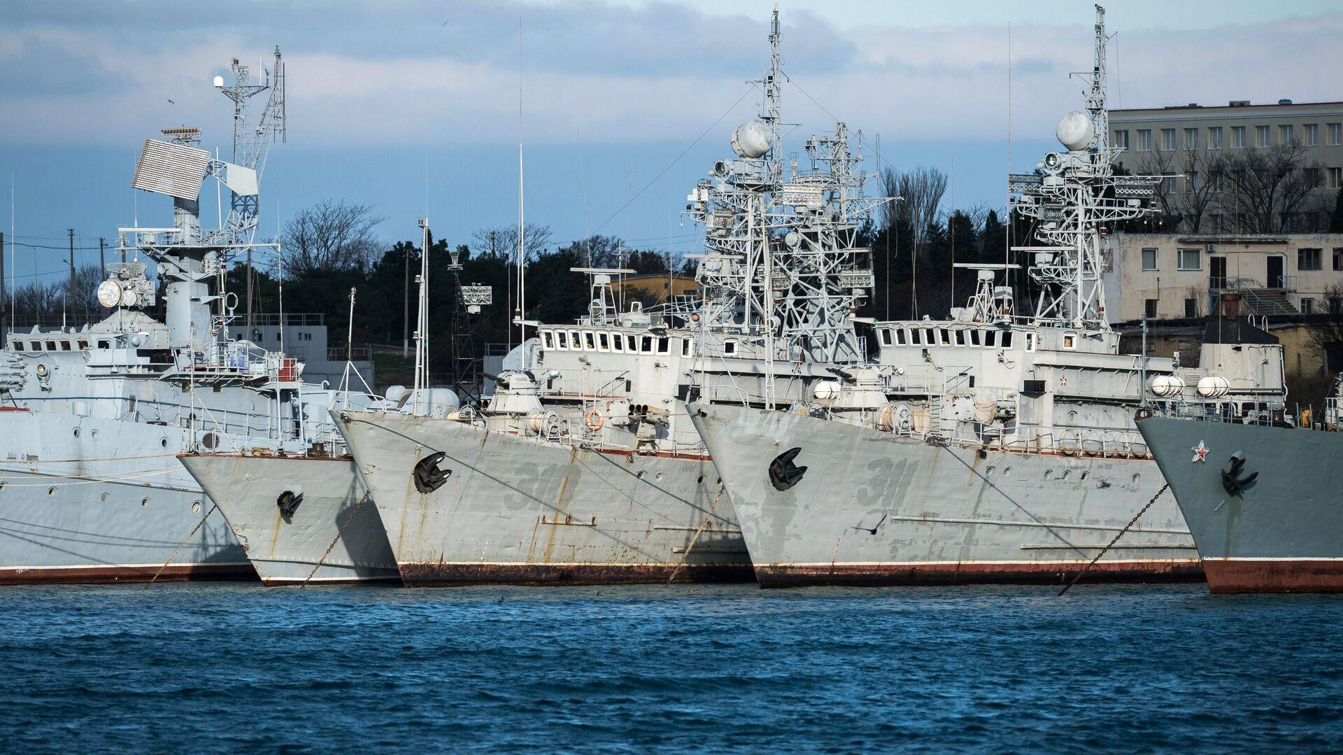 Военные корабли, принадлежащие Украине - РИА Новости, 1920, 19.08.2021
