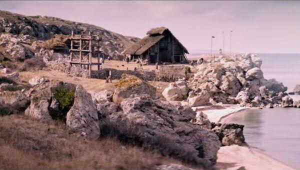 Кадр из трейлера к фильму Скиф