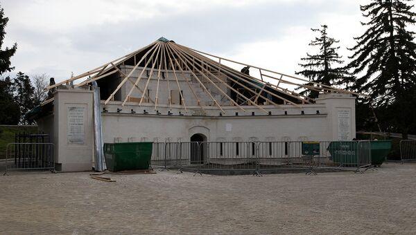 В Севастополе приступили к реставрации Корниловской башни