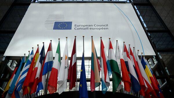 Заседание Совета Европы в Брюсселе