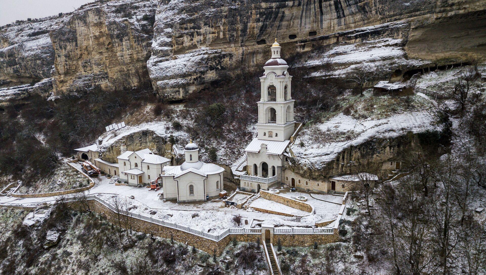 Свято-Успенский пещерный монастырь в Бахчисарае - РИА Новости, 1920, 18.11.2020