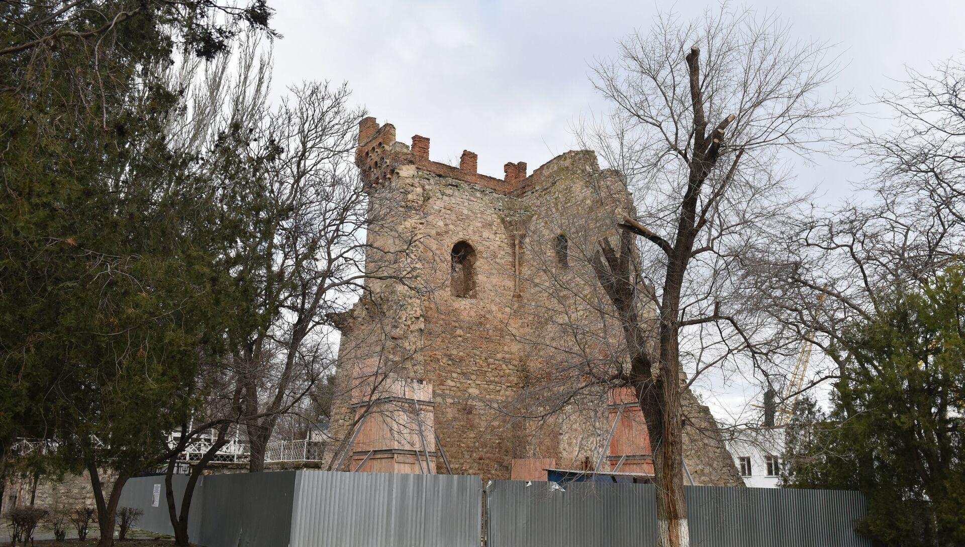 Башня Константина в Феодосии - РИА Новости, 1920, 03.07.2020