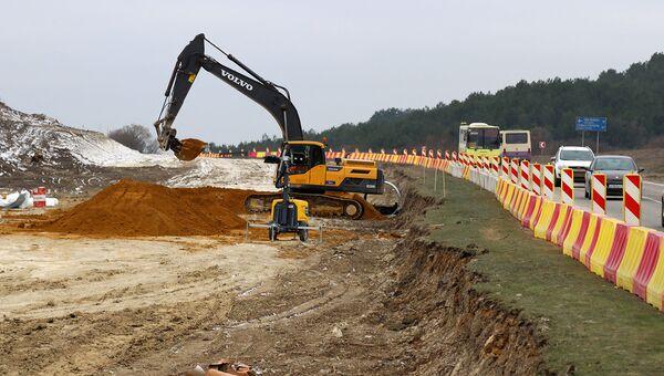 Строительство седьмого севастопольского участка трассы Таврида стартовало в середине декабря прошлого года