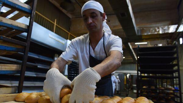 Производство хлебобулочных изделий на предприятии Крымхлеб