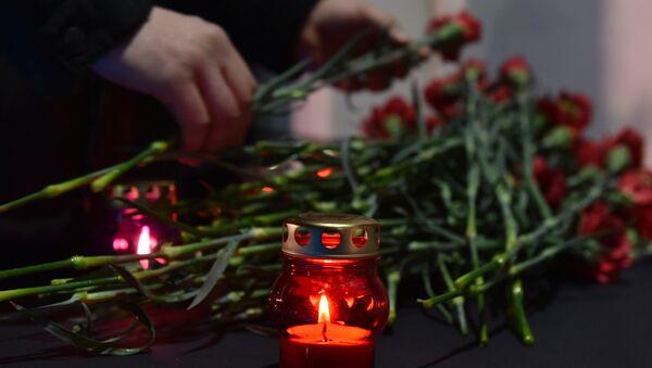 В Симферополе почтили память погибших в авиакатастрофе Ан-148 в Подмосковье