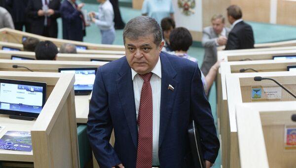 Первый заместитель председателя Комитета Совета Федерации по международным делам Владимир Джабаров