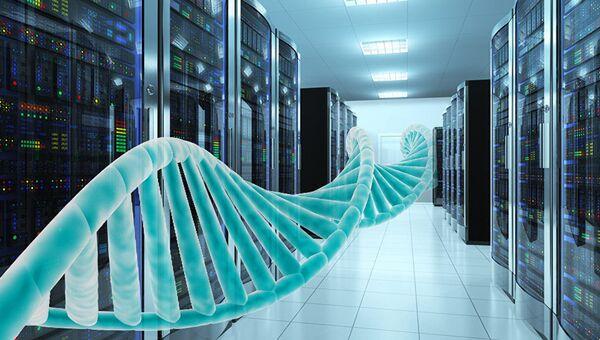 Молекула ДНК обеспечивает плотность записи больше, чем у флешки
