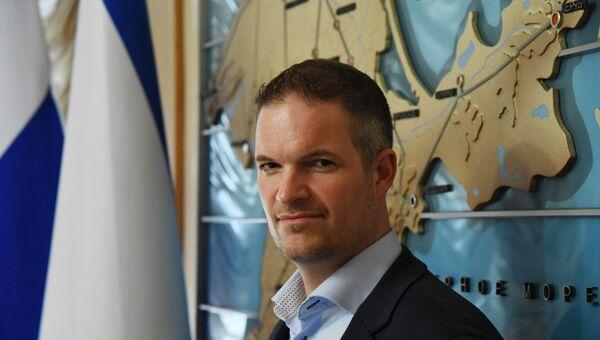 Руководитель общественной организации Народная дипломатия Норвегии Хендрик Вебер