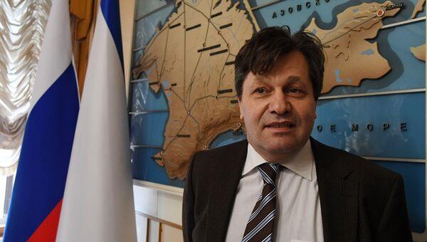 Наблюдатель за выборами президента РФ в Крыму и Севастополе из Германии Андреас Маурер