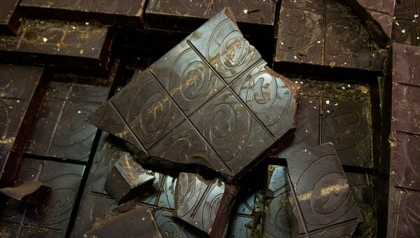 Шоколад. Архивное фото