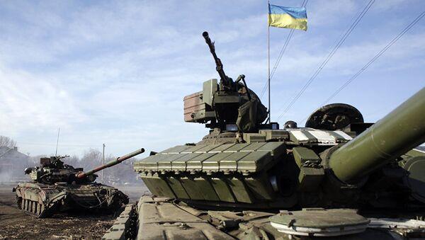 Танк украинской армии. Архивное фото