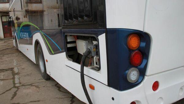 Новый электробус вышел на маршрут в Симферополе