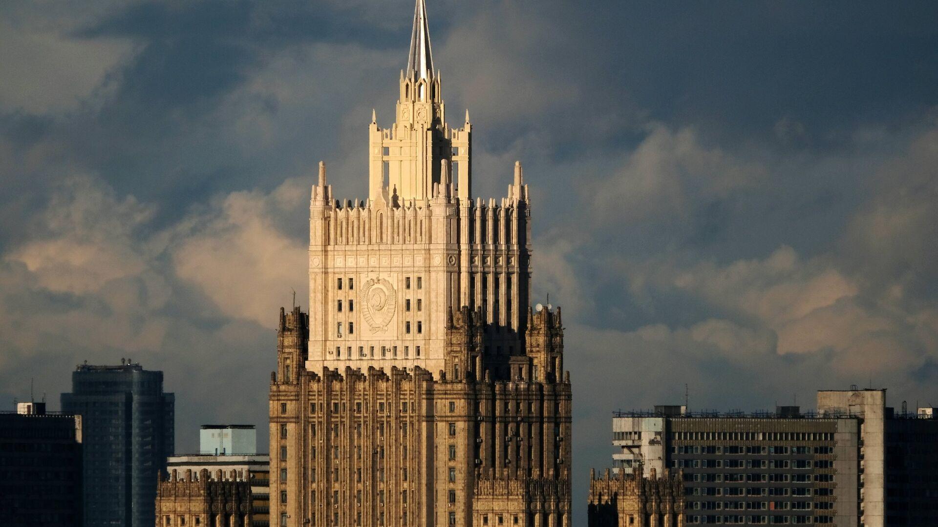 Здание министерства иностранных дел РФ в Москве - РИА Новости, 1920, 21.11.2020