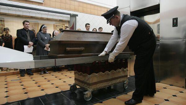 Крематорий. Архивное фото