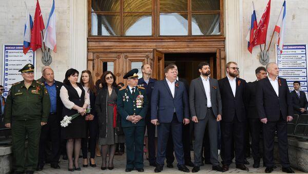 Встреча в Симферополе Поезда Победы