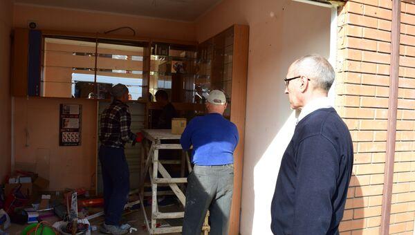 Демонтаж торговых объектов в Симферополе