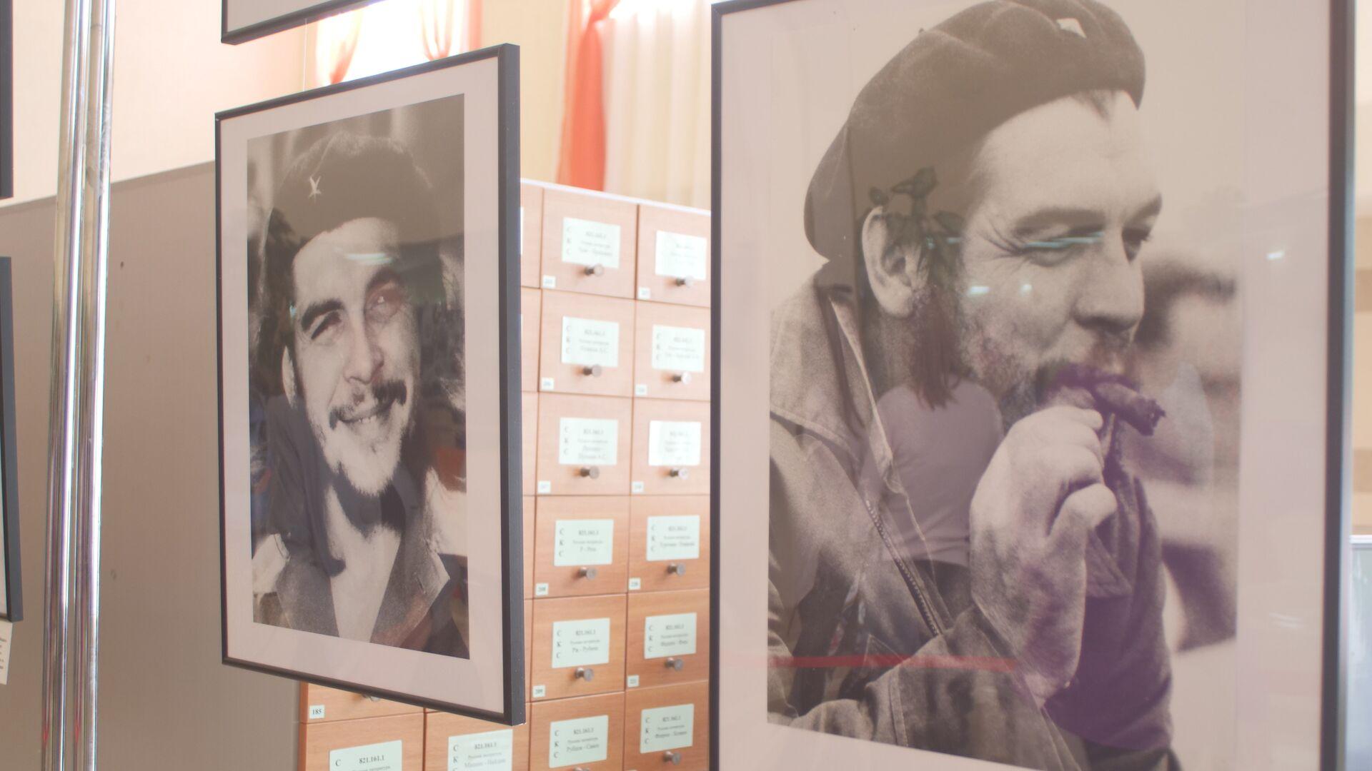 Выставка Эрнесто Че Гевара. Путь Свободы, которая открылась в библиотеке им. Франко в Симферополе - РИА Новости, 1920, 25.07.2021