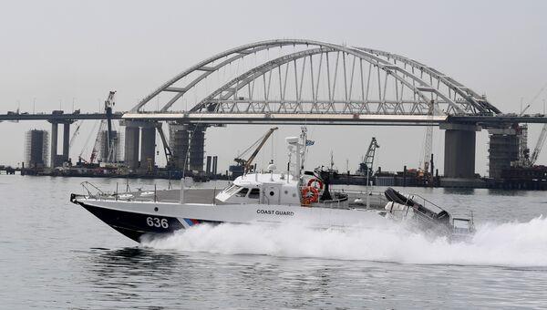 Патрульный катер Мангуст Пограничного управления ФСБ России по Республике Крым