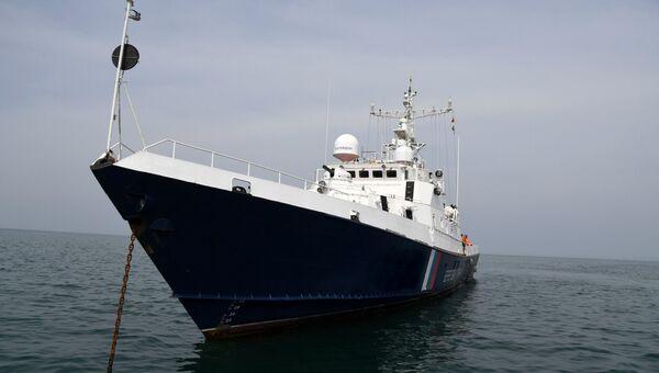 Пограничный сторожевой корабль Крым