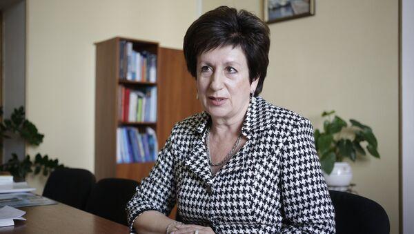 Председатель Законодательного собрания Севастополя Екатерина Алтабаева