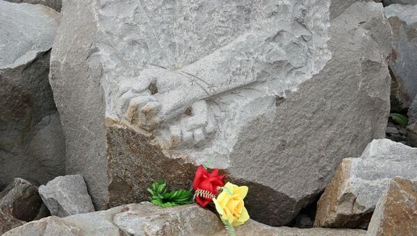Мемориал жертвам фашистской оккупации Крыма 1941-1944 годов Концлагерь Красный в селе Мирное Симферопольского района