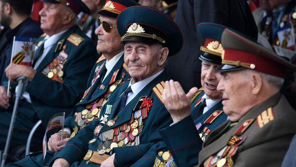 Ветераны Великой Отечественной войны в Симферополе