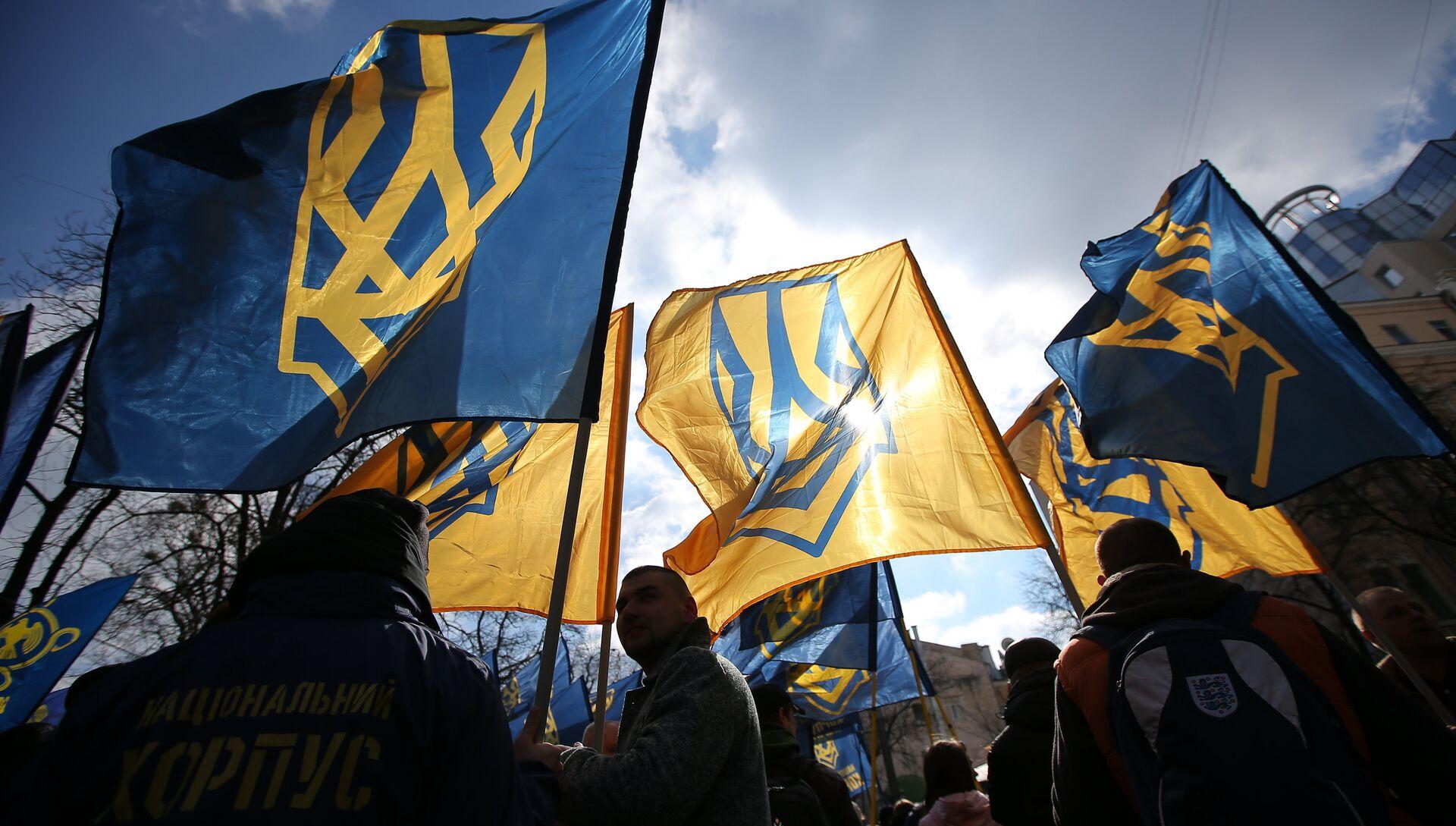 Акция протеста  в Киеве против олигархов - РИА Новости, 1920, 18.05.2021