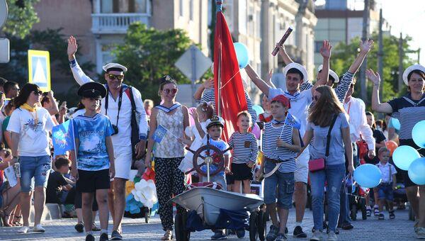 Детский карнавал в Евпатории