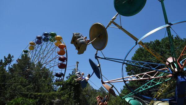 Празднование Дня города в симферопольском Детском парке. 2018 г.
