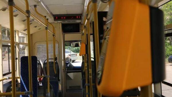 Установка валидаторов в общественном транспорте Севастополя