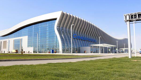 Новый терминал аэропорта Симферополь. Архивное фото