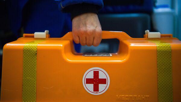 Работа скорой медицинской помощи. Архивное фото