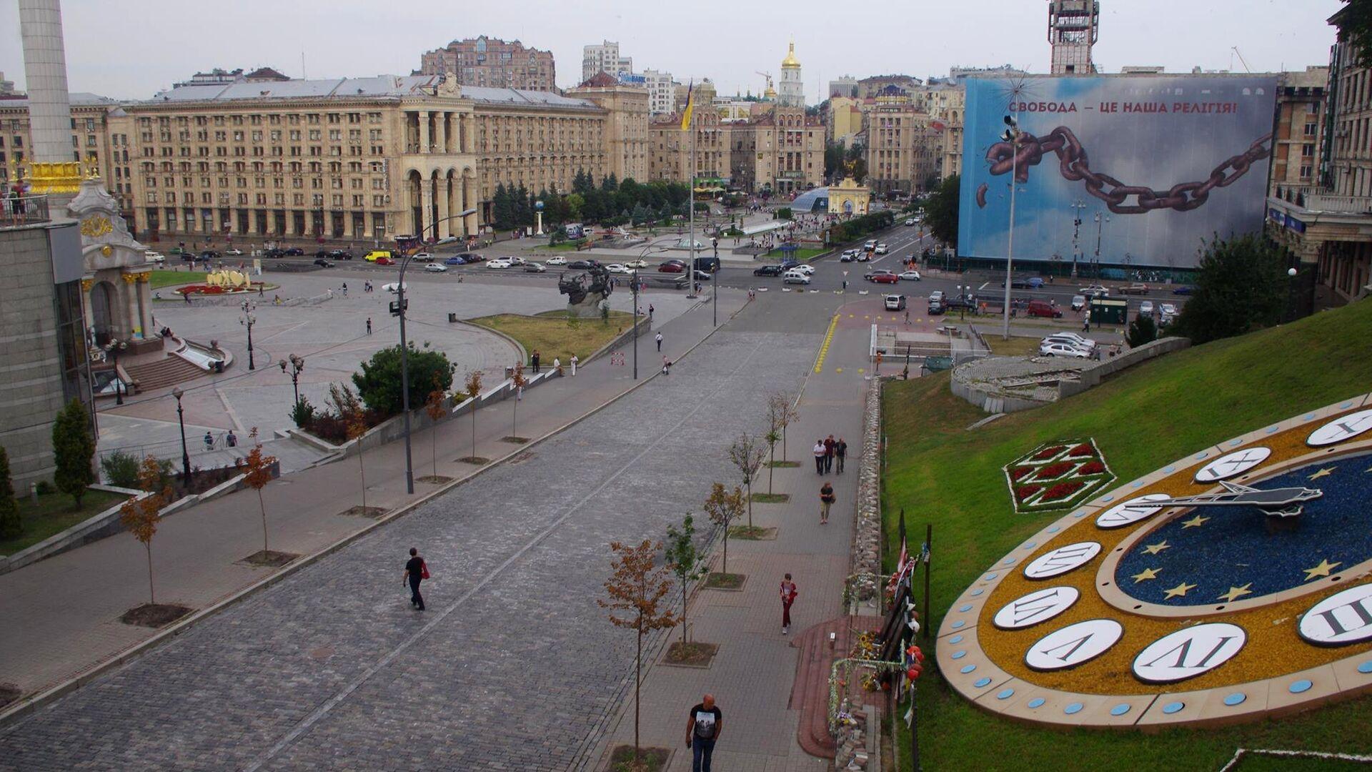 Площадь Независимости в Киеве - РИА Новости, 1920, 21.09.2021