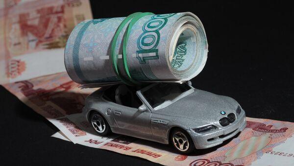 Транспортный налог. Рубли