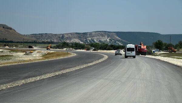 Третий этап строительства трассы Таврида