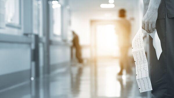 В коридоре больницы