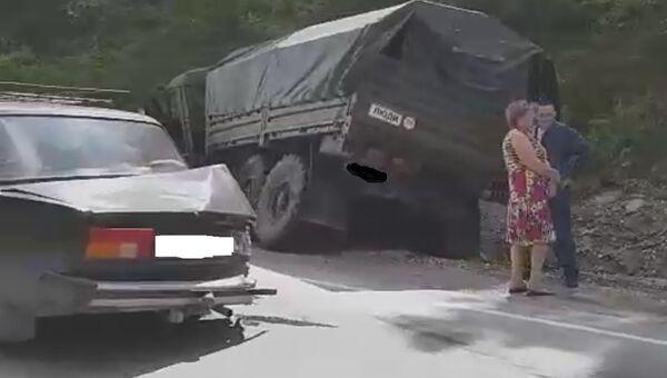 ДТП на трассе Симферополь - Керчь. 21 июля 2018