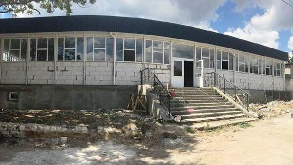 В Старом Крыму строят боксерский зал