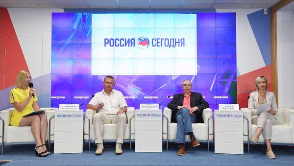 Пресс-конференция на тему: Влияние спорта на мировую политику