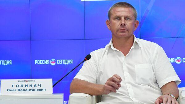 Первый заместитель министра спорта Республики Крым Олег Голинач