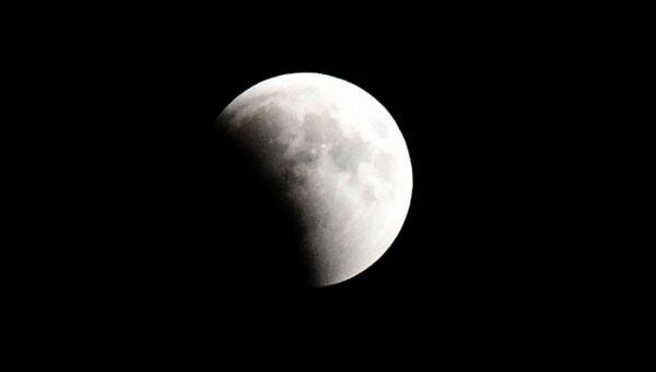 Лунное затмение в Крыму
