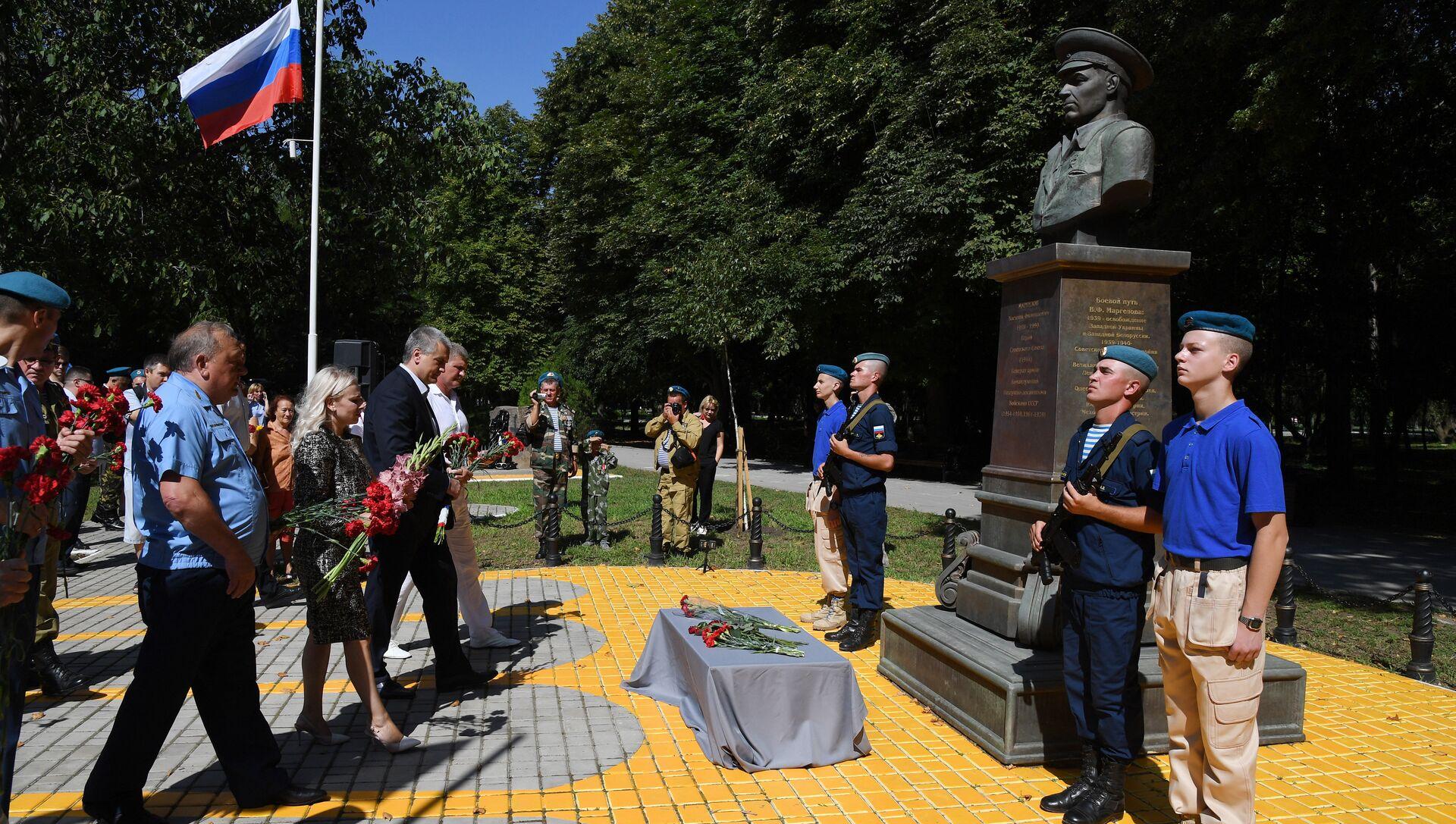 Празднование Дня ВДВ в Симферополе. 2 августа 2018 - РИА Новости, 1920, 02.08.2018