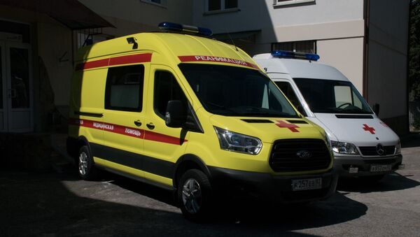 В Форосе открылся пункт базирования бригад скорой помощи